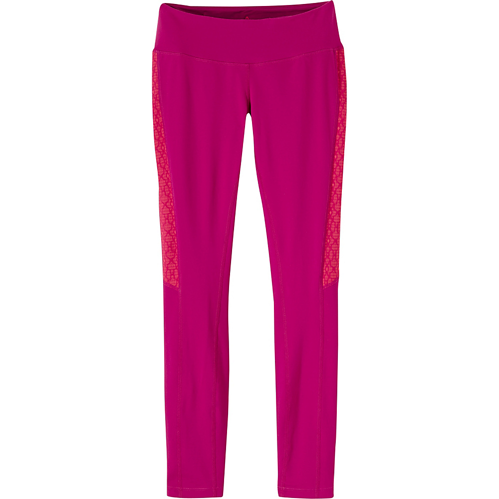 PrAna Lennox Leggings S - Rich Fuchsia - PrAna Womens Apparel - Apparel & Footwear, Women's Apparel