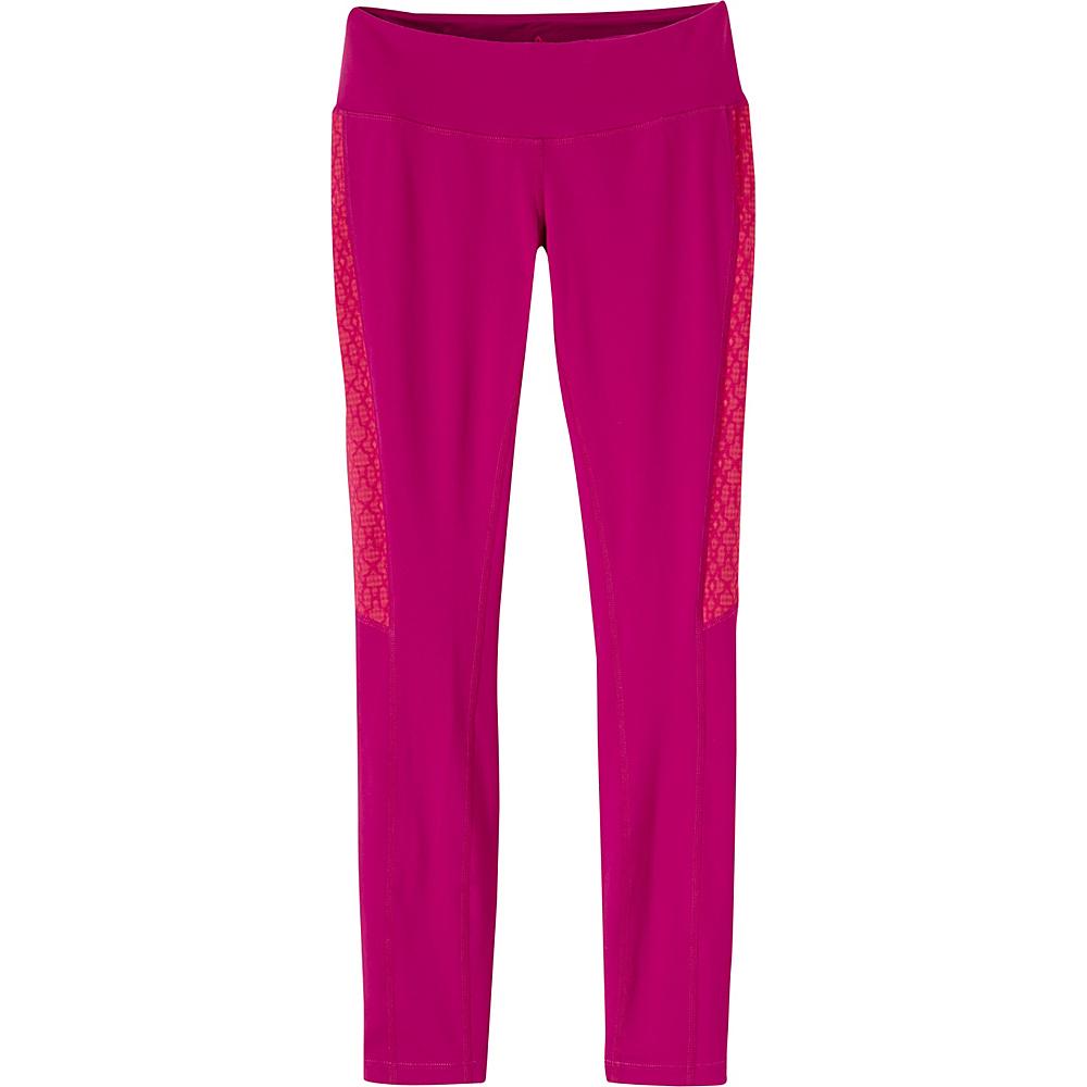 PrAna Lennox Leggings L - Rich Fuchsia - PrAna Womens Apparel - Apparel & Footwear, Women's Apparel