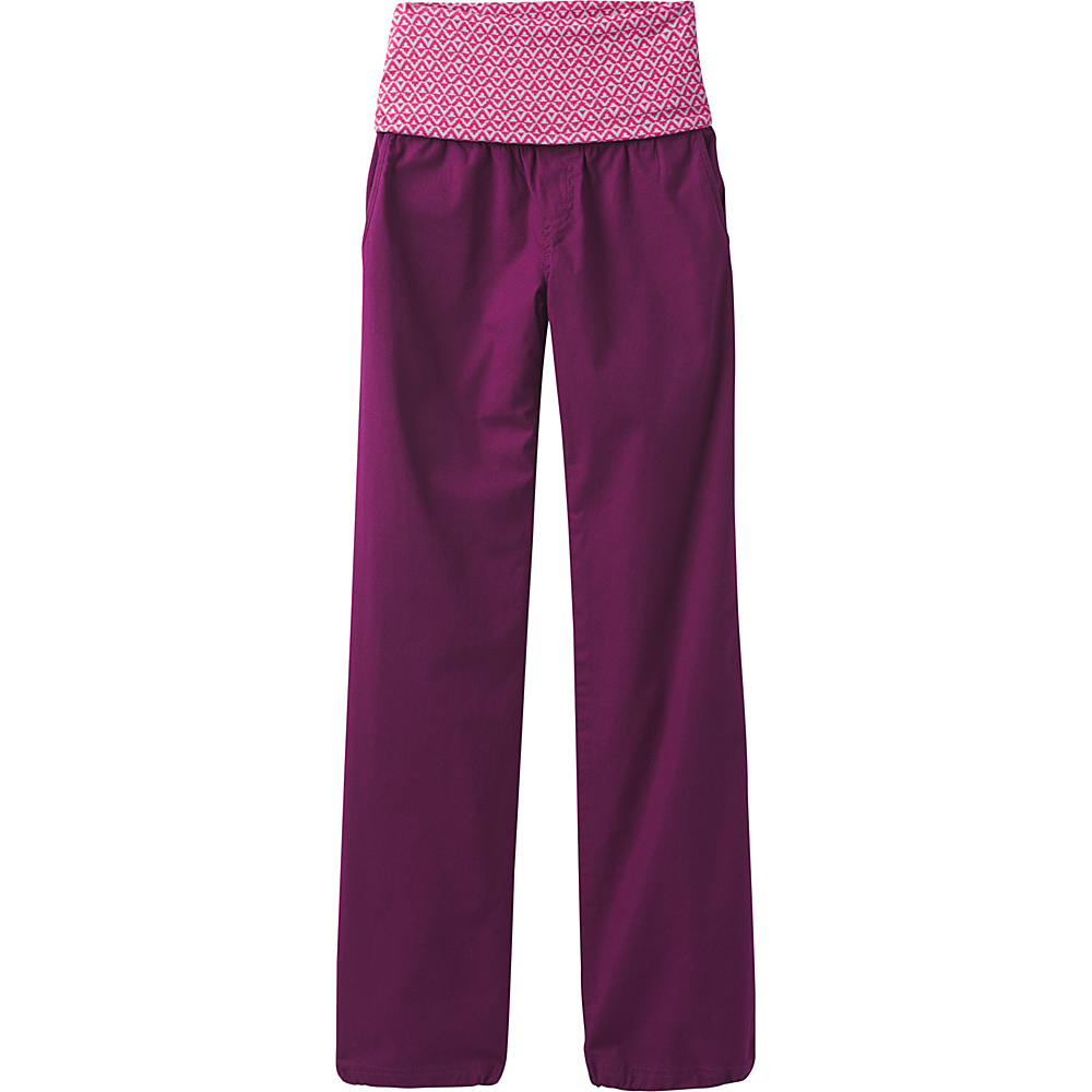 PrAna Sidra Pants XS - Grapevine Compass Combo - PrAna Womens Apparel - Apparel & Footwear, Women's Apparel