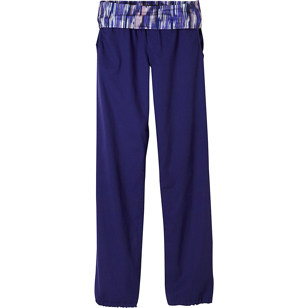 PrAna Sidra Pants L - Indigo - PrAna Womens Apparel - Apparel & Footwear, Women's Apparel