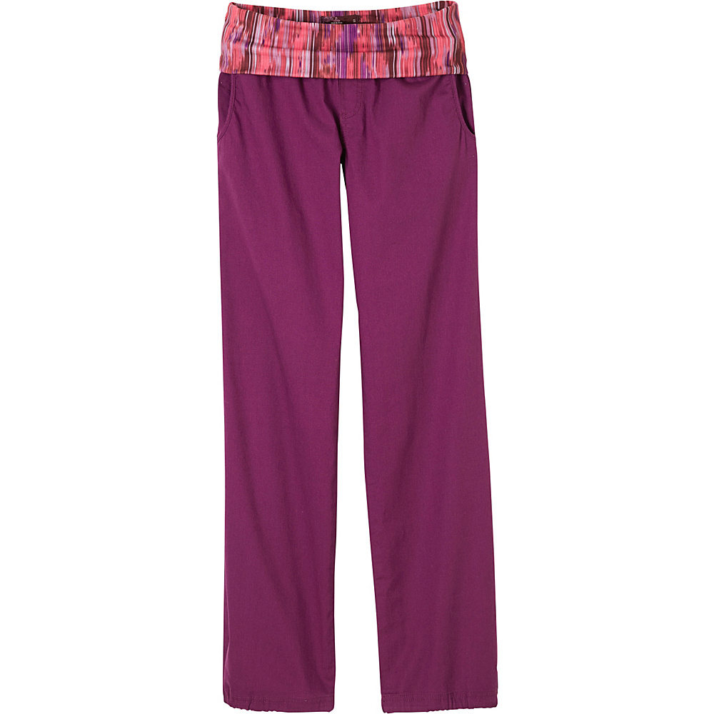 PrAna Sidra Pants S - Light Red Violet - PrAna Womens Apparel - Apparel & Footwear, Women's Apparel
