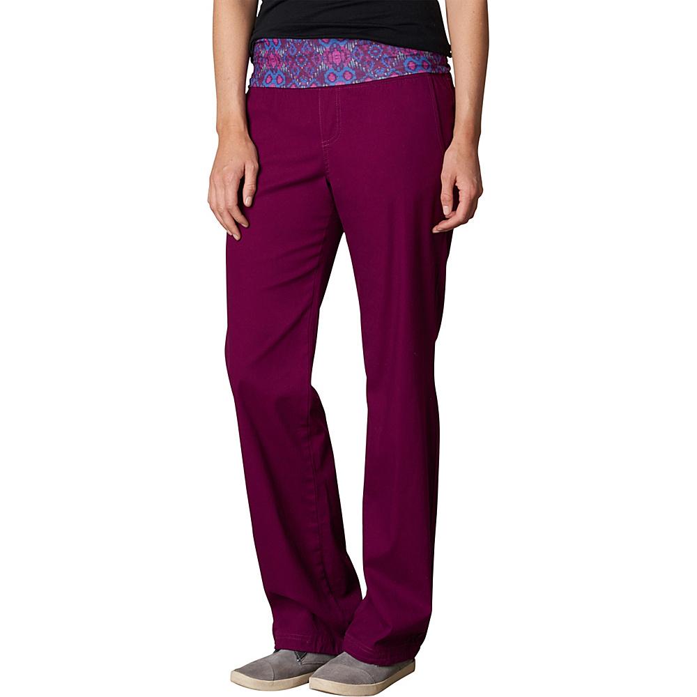PrAna Sidra Pants L - Grapevine - PrAna Womens Apparel - Apparel & Footwear, Women's Apparel
