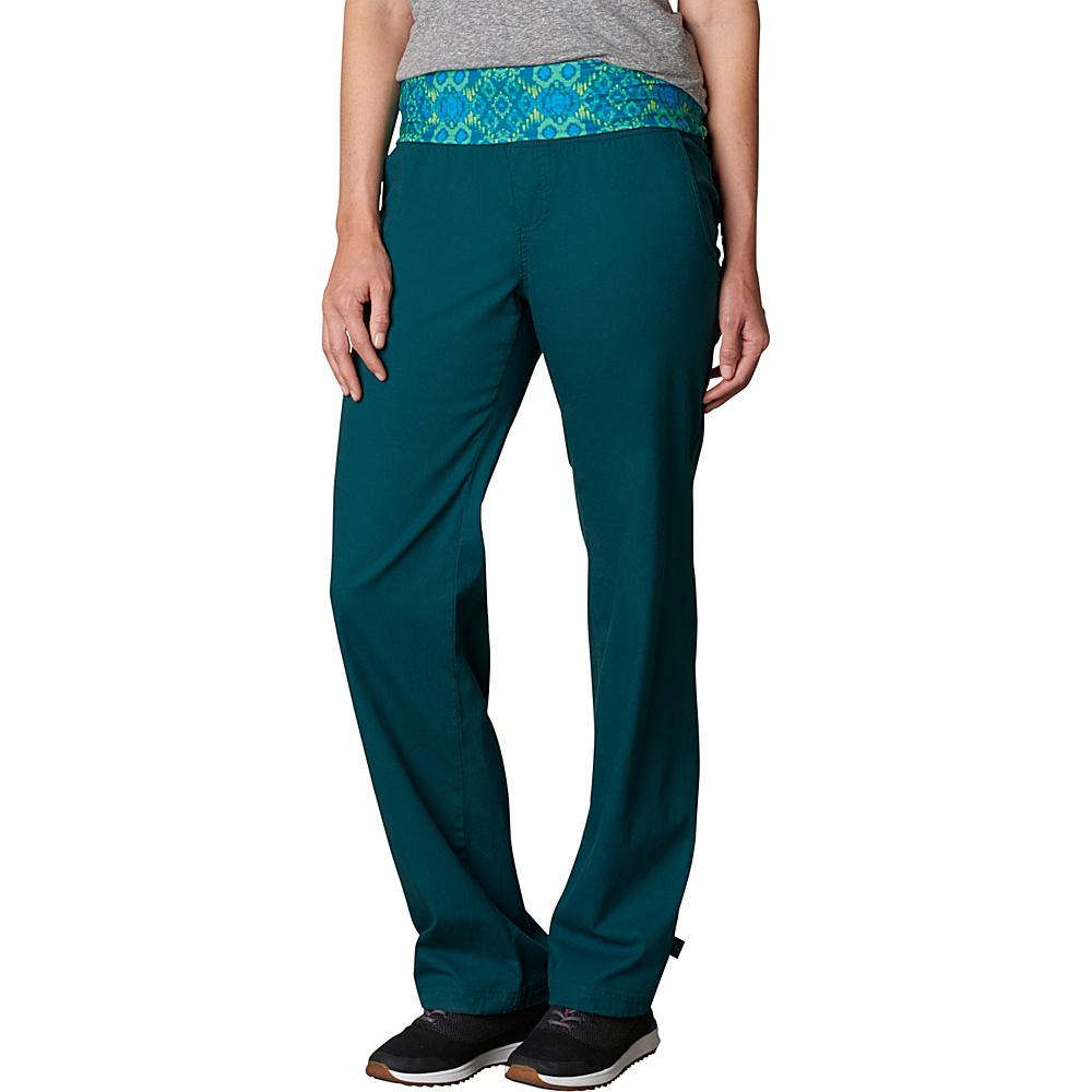 PrAna Sidra Pants L - Deep Teal - PrAna Womens Apparel - Apparel & Footwear, Women's Apparel