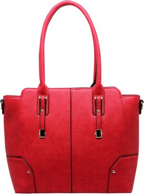 MKF Collection by Mia K. Farrow MKF Collection by Mia K. Farrow Harper Shoulder Bag Red - MKF Collection by Mia K. Farrow Manmade Handbags