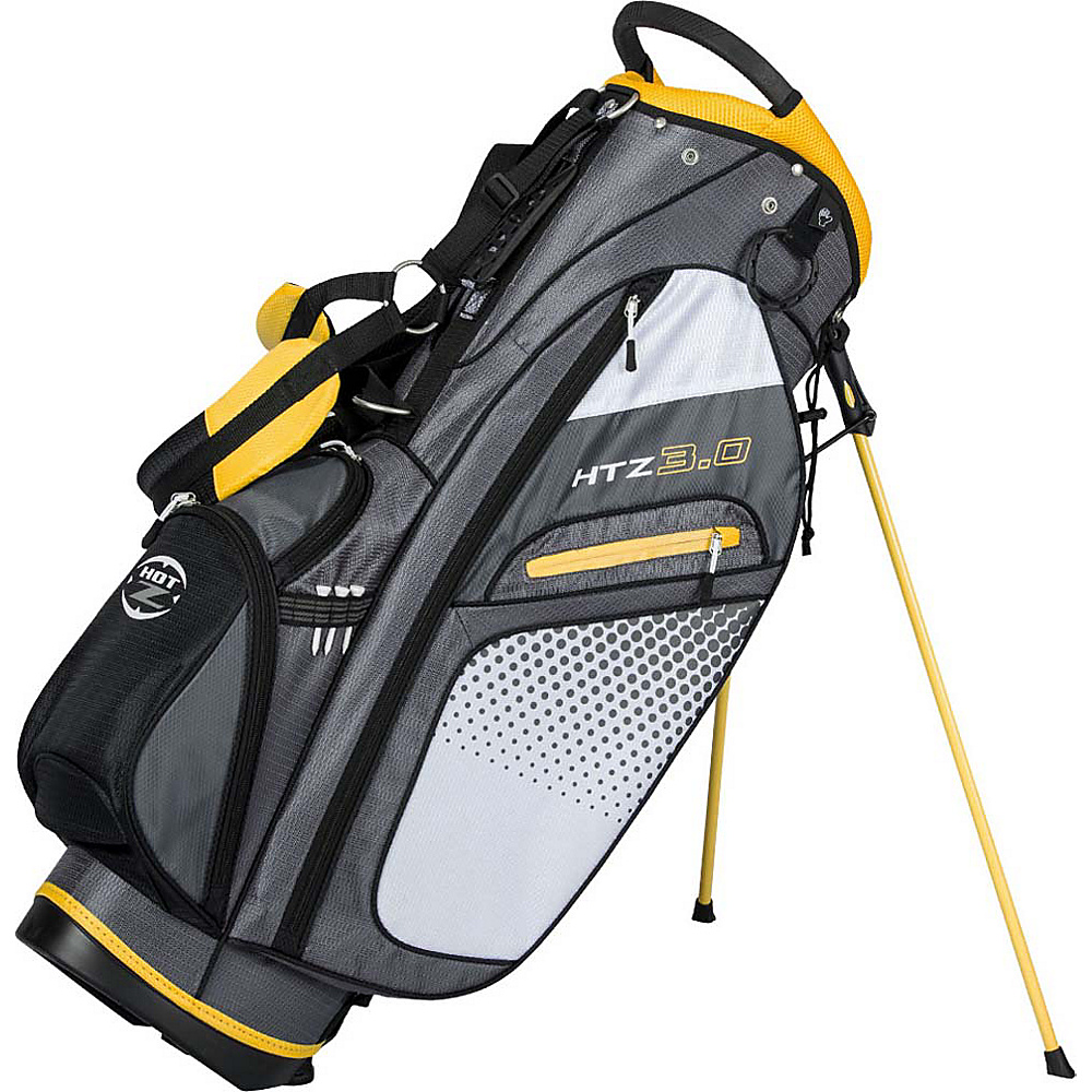 Hot-Z Golf Bags 3.0 Stand Bag Yellow - Hot-Z Golf Bags Golf Bags