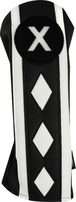 Hot-Z Golf Bags #X Fairway Wood Headcover Black - Hot-Z Golf Bags Sports Accessories