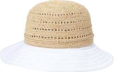 Helen Kaminski Kessy 8 Hat One Size - Natural/White - Helen Kaminski Hats/Gloves/Scarves