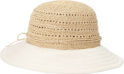Helen Kaminski Kessy 8 Hat One Size - Natural/Shell - Helen Kaminski Hats/Gloves/Scarves