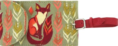 Capri Designs Sarah Watts Luggage Tag Fox - Capri Designs Luggage Accessories