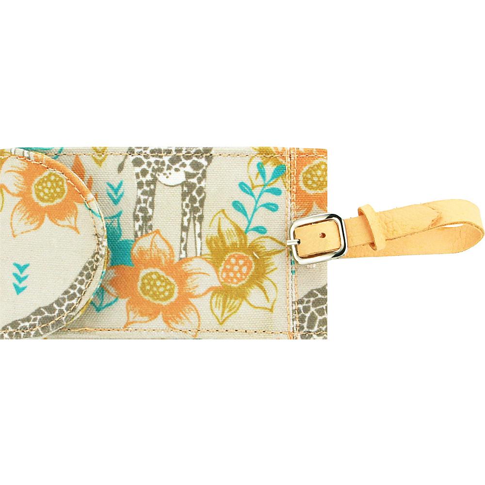 Capri Designs Sarah Watts Luggage Tag Giraffe Capri Designs Luggage Accessories
