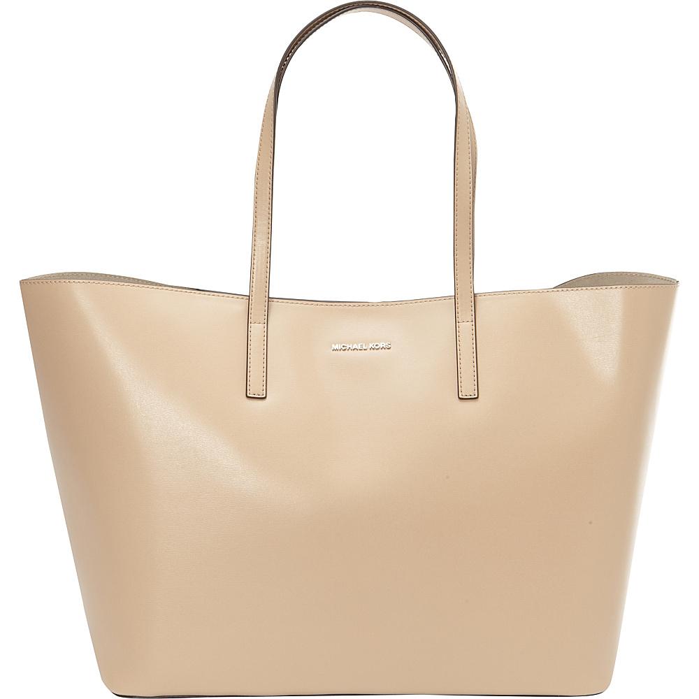 MICHAEL Michael Kors Emry Extra Large Tote Bisque - MICHAEL Michael Kors Designer Handbags