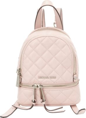 MICHAEL Michael Kors Rhea Zip Extra Small Quilted Messenger Backpack - eBags.com