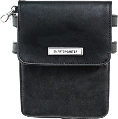 SmarterGarter SmarterGarter Salem Hands-Free Purse 3.0 Black - Small - SmarterGarter Waist Packs