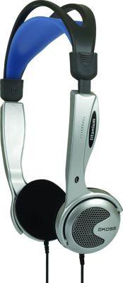 Koss Portable Headphones with In-Line Volume Control Silver - Koss Headphones & Speakers