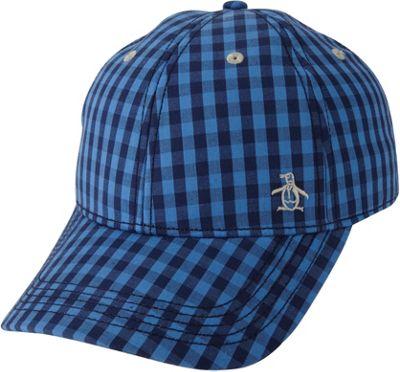 Original Penguin Mini Cheque Baseball Cap Directoire Blue - Original Penguin Hats/Gloves/Scarves
