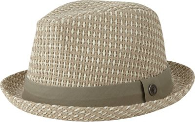 Ben Sherman Open Vent Straw Fedora L/XL - Off White - L/XL - Ben Sherman Hats/Gloves/Scarves