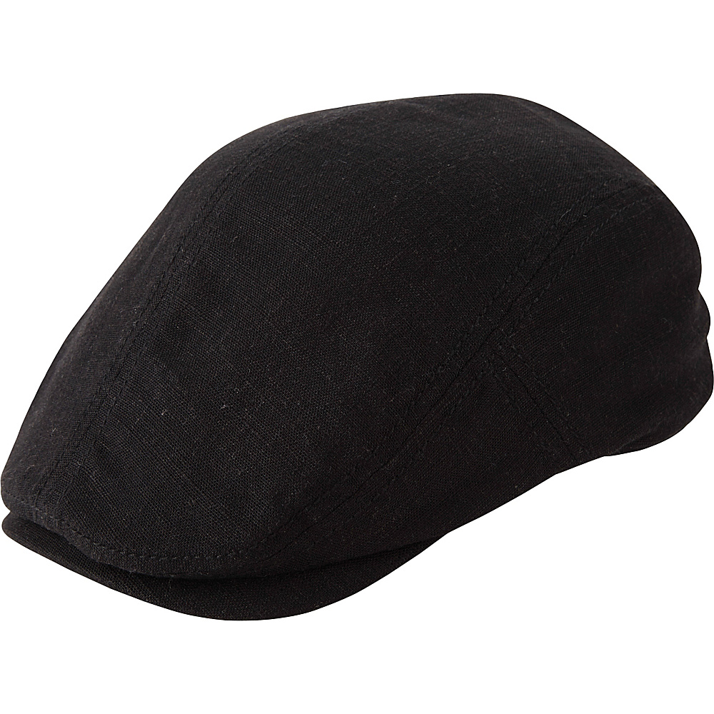 Ben Sherman Slub Driver Hat Black - L/XL - Ben Sherman Hats/Gloves/Scarves