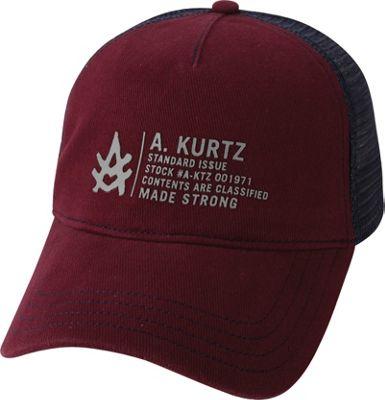 Image of A Kurtz Bryon Hat Dark Red - A Kurtz Hats