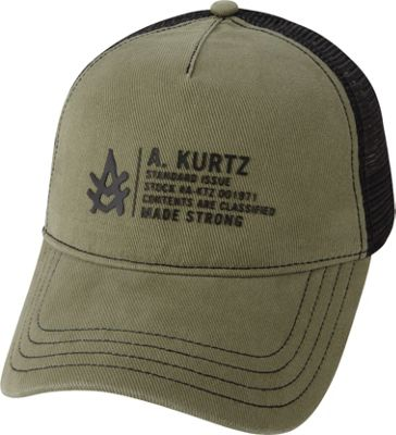Image of A Kurtz Bryon Hat Military Green - A Kurtz Hats