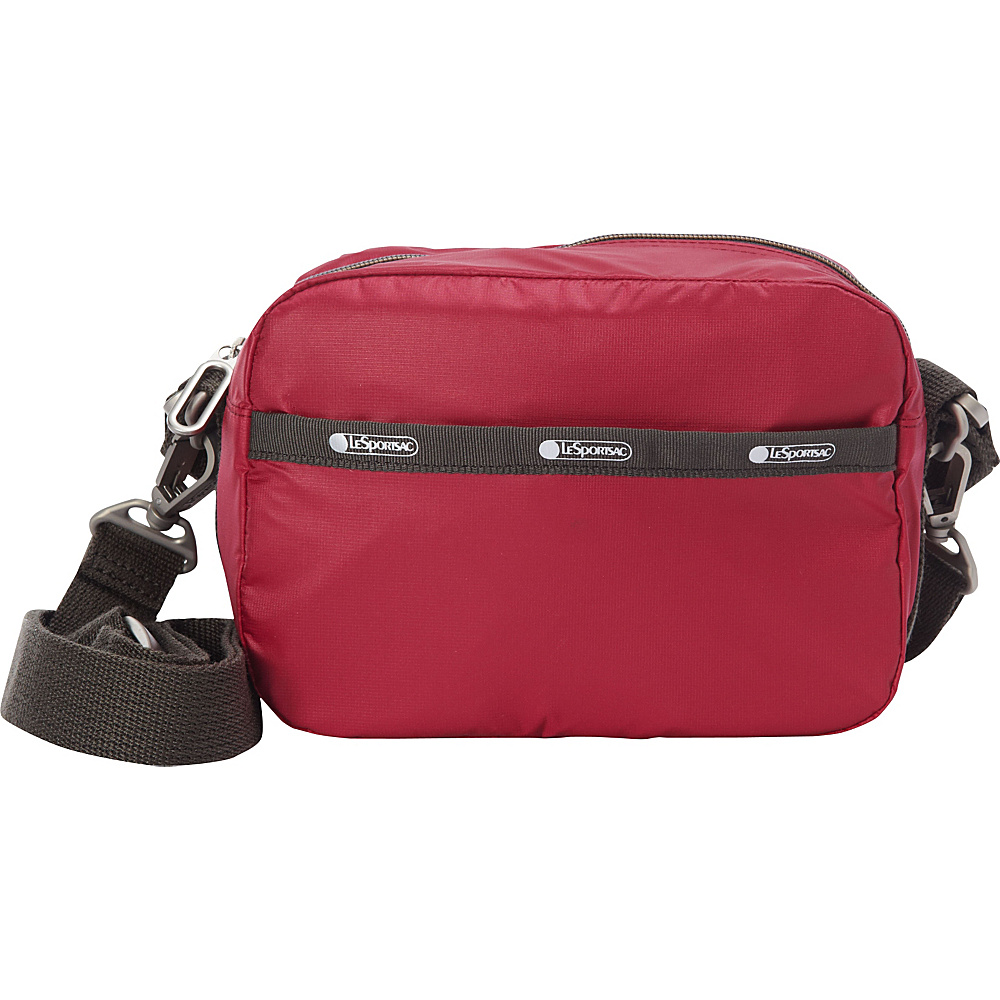 LeSportsac Cafe Convertible Crossbody Cherries Jubilee C LeSportsac Fabric Handbags