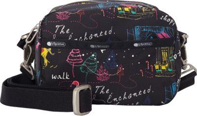 LeSportsac Cafe Convertible Crossbody Wonderland C - LeSportsac Fabric Handbags