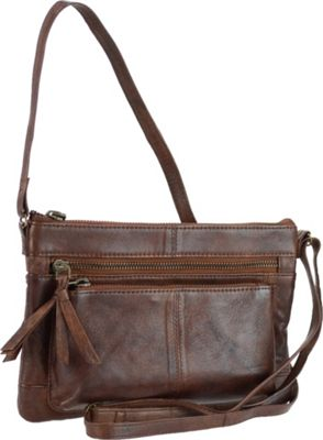 r r collections genuine leather crossbody bag with cross