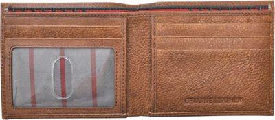 Rawlings Triple Play Bifold Wallet Cognac - Rawlings Men's Wallets