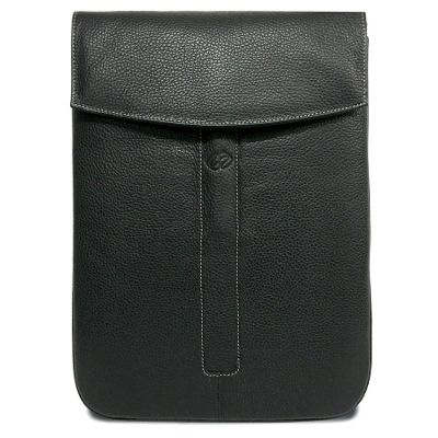 MacCase Premium Leather iPad Pro 12.9 Sleeve Black - MacCase Electronic Cases