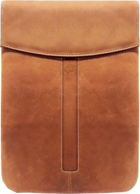 MacCase Premium Leather iPad Pro 12.9 Sleeve Vintage - MacCase Electronic Cases