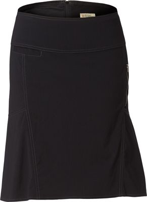 Royal Robbins Womens Discovery Strider Skirt 4 - Jet Black - Royal Robbins Women's Apparel
