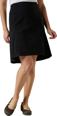 Royal Robbins Womens Discovery Strider Skirt 10 - Jet Black - Royal Robbins Women's Apparel