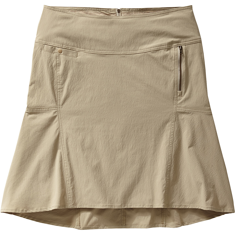 Royal Robbins Womens Discovery Strider Skirt 4 - Khaki - Royal Robbins Womens Apparel - Apparel & Footwear, Women's Apparel