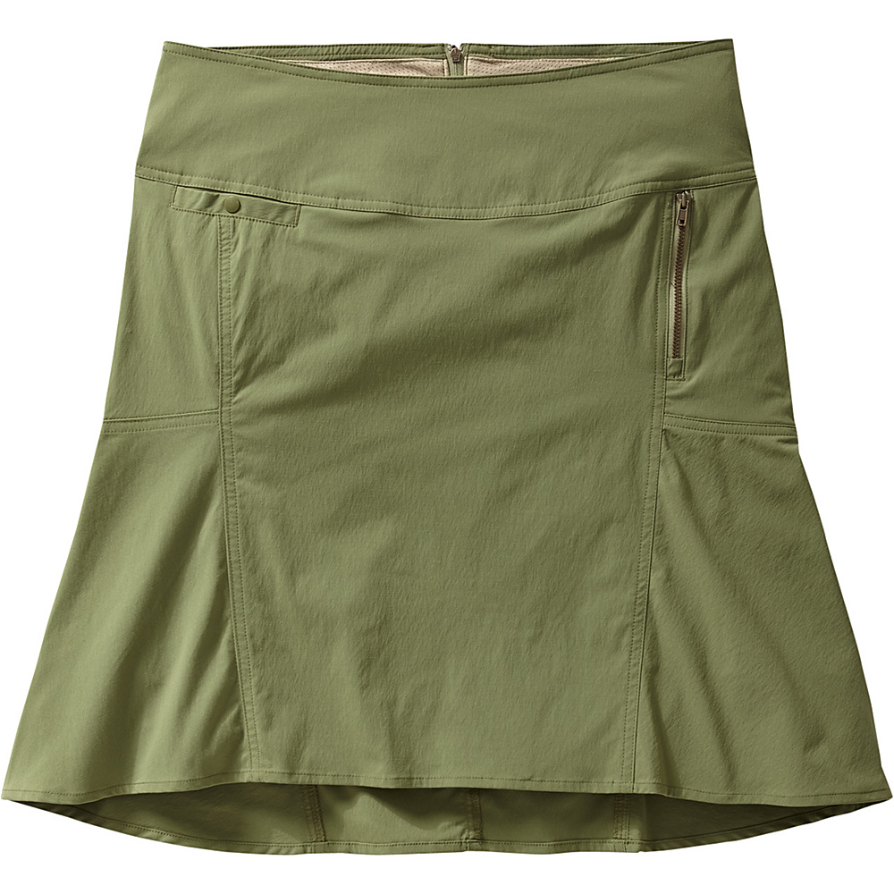 Royal Robbins Womens Discovery Strider Skirt 12 - Aloe - Royal Robbins Womens Apparel - Apparel & Footwear, Women's Apparel