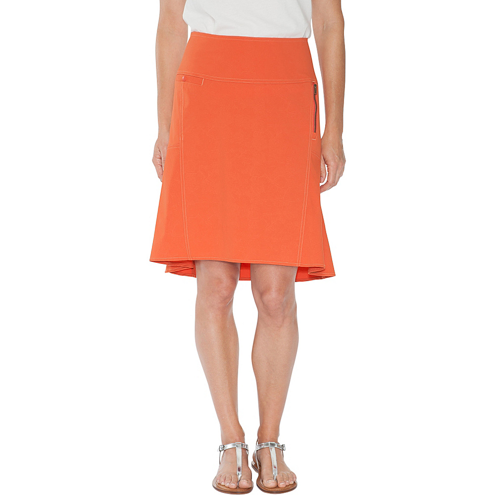 Royal Robbins Womens Discovery Strider Skirt 2 - Dusty Coral - Royal Robbins Womens Apparel - Apparel & Footwear, Women's Apparel