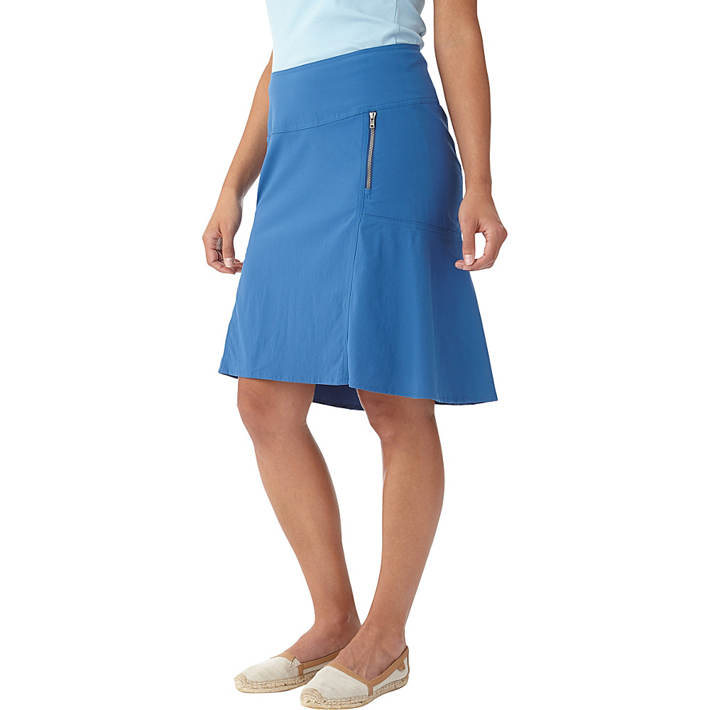 Royal Robbins Womens Discovery Strider Skirt 4 - Dark Lapis - Royal Robbins Womens Apparel - Apparel & Footwear, Women's Apparel
