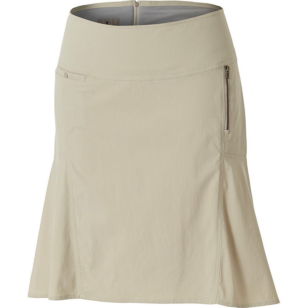 Royal Robbins Womens Discovery Strider Skirt 8 - Sandstone - Royal Robbins Womens Apparel - Apparel & Footwear, Women's Apparel
