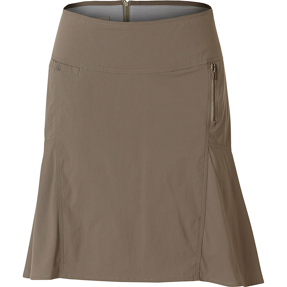Royal Robbins Womens Discovery Strider Skirt 8 - Taupe - Royal Robbins Womens Apparel - Apparel & Footwear, Women's Apparel