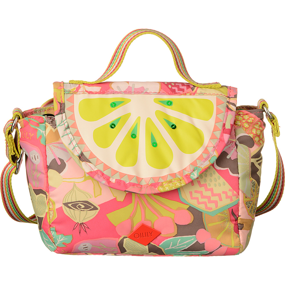 Oilily Small Shoulder Bag Candy Pink - Oilily Fabric Handbags