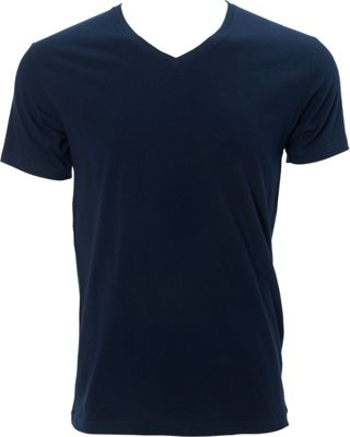 Simplex Apparel Premium Mens V Tee M - Navy - Simplex Apparel Men's Apparel