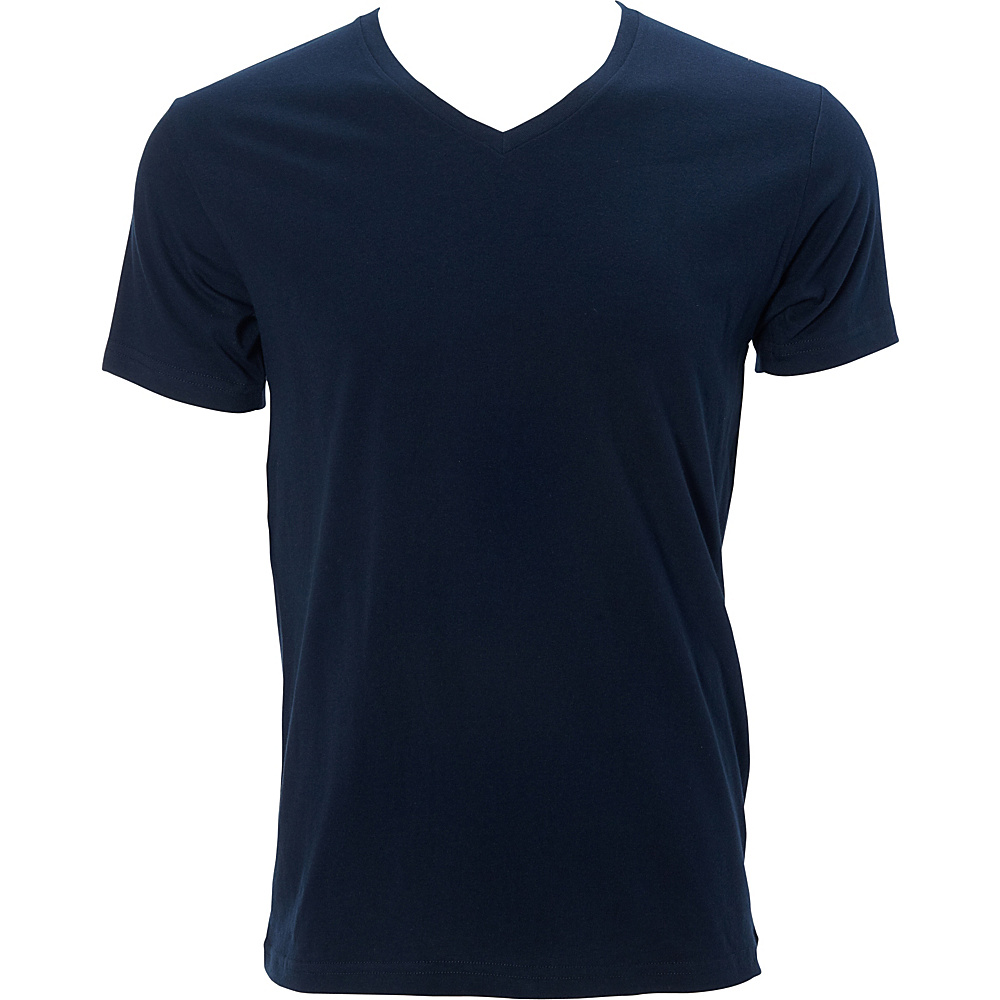 Simplex Apparel Premium Mens V Tee XL - Navy - Simplex Apparel Mens Apparel - Apparel & Footwear, Men's Apparel