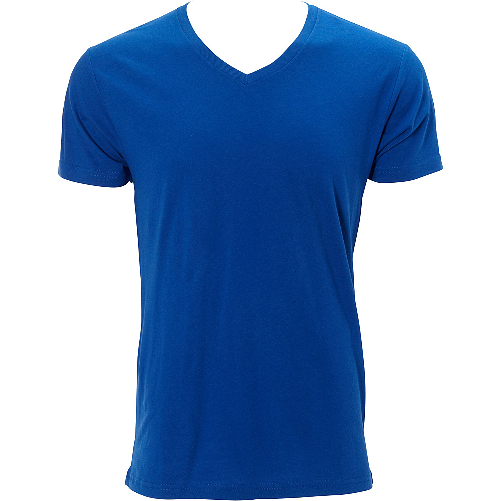 Simplex Apparel Premium Mens V Tee XL - Royal - Simplex Apparel Mens Apparel - Apparel & Footwear, Men's Apparel