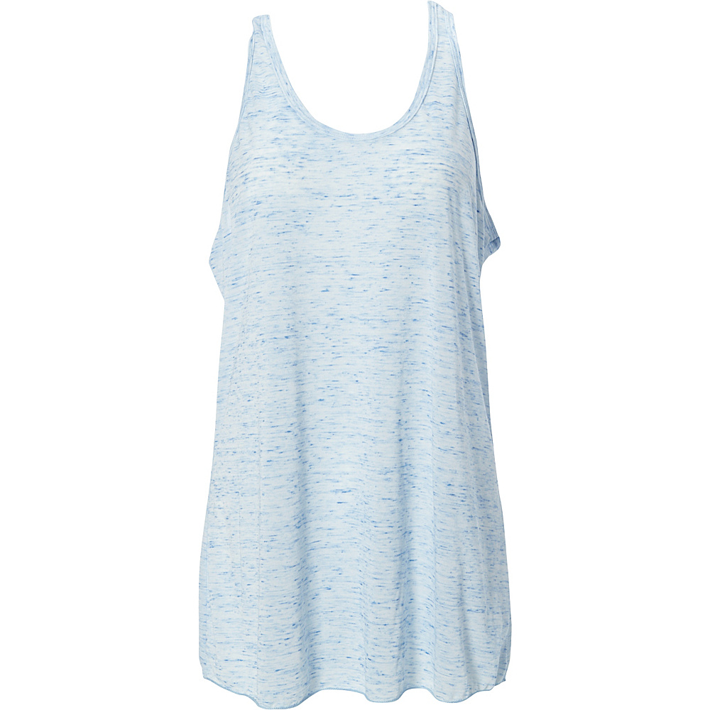 Simplex Apparel Caviar Womens Racerback Tank S - Speckled Blue - Simplex Apparel Womens Apparel - Apparel & Footwear, Women's Apparel