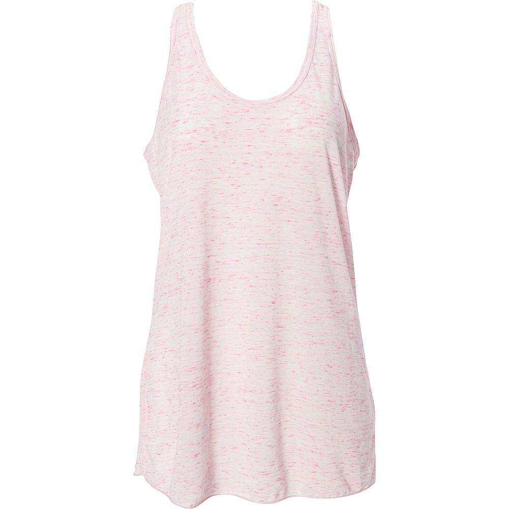 Simplex Apparel Caviar Womens Racerback Tank L - Speckled Pink - Simplex Apparel Womens Apparel - Apparel & Footwear, Women's Apparel