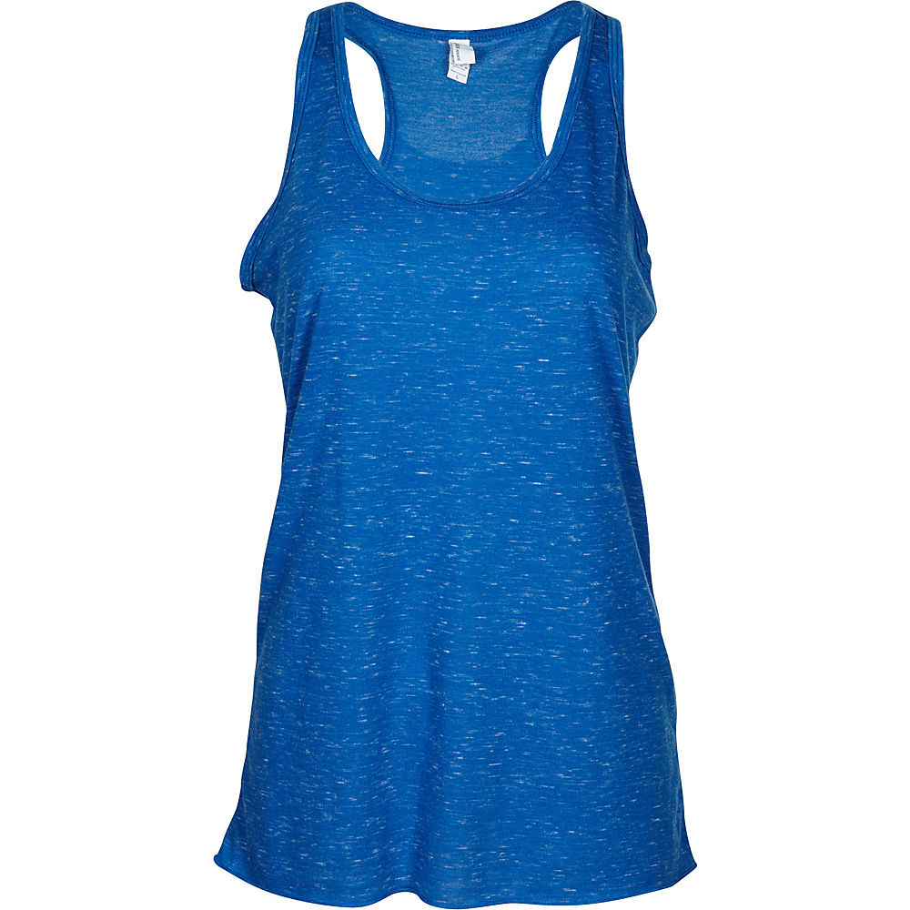 Simplex Apparel Caviar Womens Racerback Tank S - Royal - Simplex Apparel Womens Apparel - Apparel & Footwear, Women's Apparel