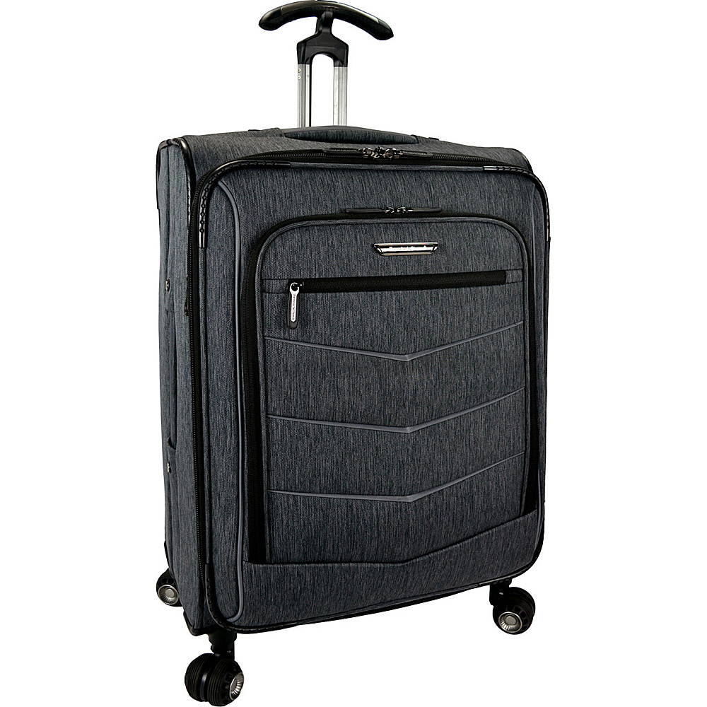 Traveler s Choice Silverwood 26 Softside Spinner Luggage Gray Traveler s Choice Softside Checked