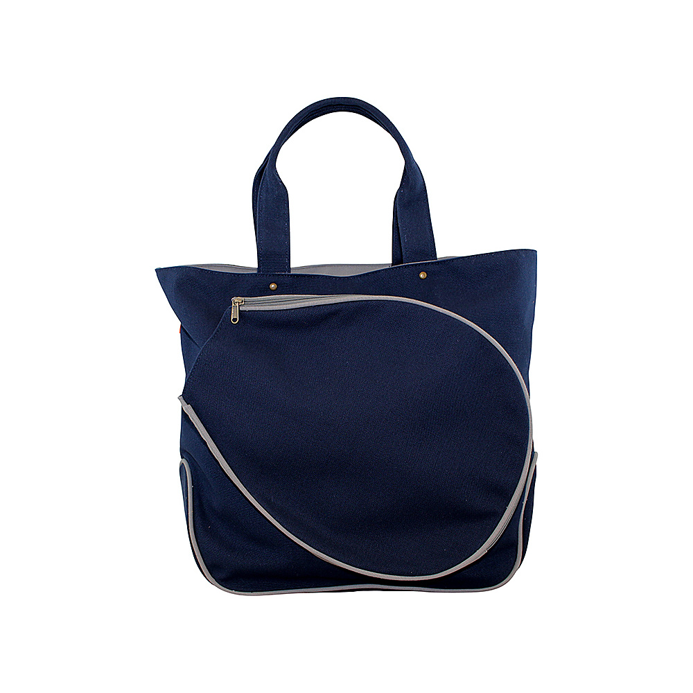 CB Station Tennis Tote Navy & Gray - CB Station Other Sports Bags