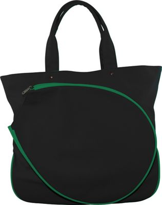 CB Station Tennis Tote Black & Emerald - CB Station Other Sports Bags