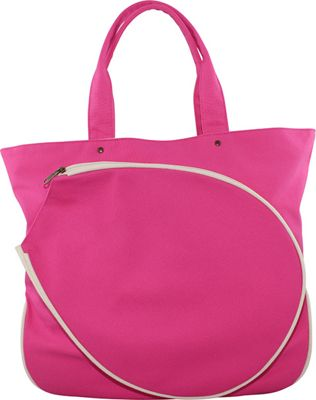 CB Station Tennis Tote Hot Pink & Natural - CB Station Other Sports Bags