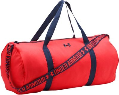 Under Armour Favorite Barrel Duffel Pomegranate/Midnight Navy/Midnight Navy - Under Armour Gym Duffels