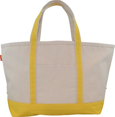 CB Station Boat Tote Large Yellow - CB Station Fabric Handbags